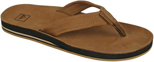 Quiksilver Renovation Sandal - Light Brown / Brown