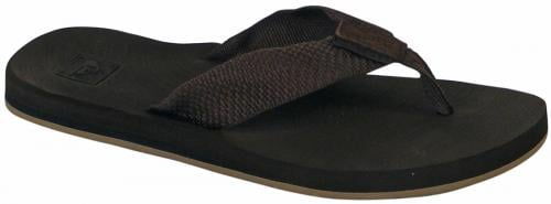 Quiksilver Carver Woven Sandal - Brown / Black / Brown