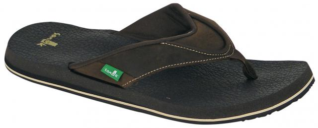 Sanuk Beer Cozy Primo Sandal - Brown