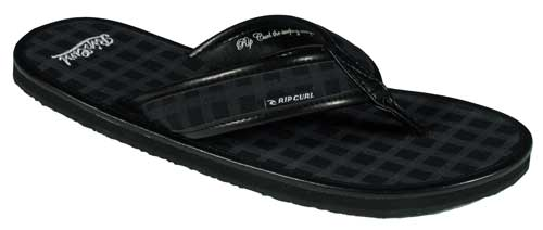 Rip Curl Diego Sandal - Black Plaid