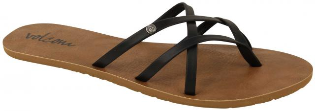 Volcom New School Sandal - Black