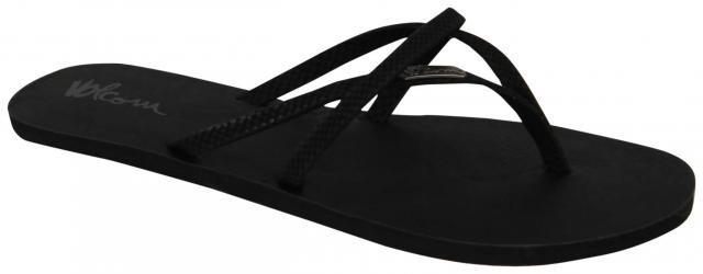 Volcom All Night Long Sandal - Sulfer Black