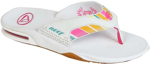 d35c583f34f Reef Fanning Women s Sandal - White   Multi For Sale at Surfboards ...