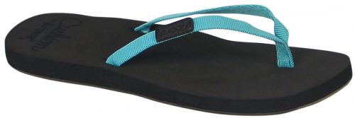 Reef Skinny Cushion Sandal - Brown / Aqua