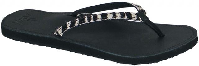 Reef Skyla Safari Sandal - Black / Zebra