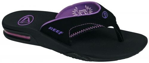 Reef Fanning Women's Sandal - Black / Black / Purple