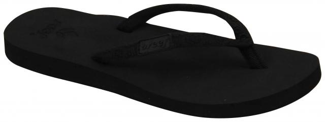 Reef Ginger Sandal - Black / Black