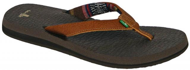 Sanuk Yoga Mat Primo Sandal - Brown
