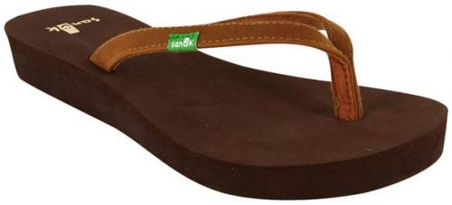Sanuk Nirvana Sandal - Brown