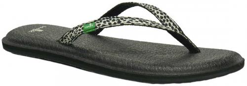 Sanuk Yoga Spree Lynx Sandal - Black