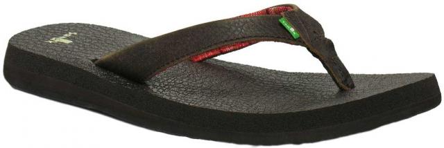 Sanuk Yoga Mat Primo Sandal - Dark Chocolate