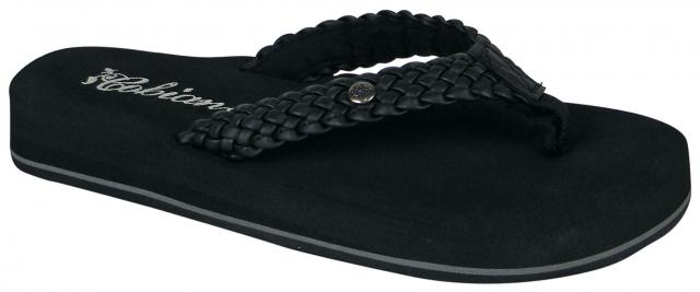 Cobian Braided Bounce Sandal - Black