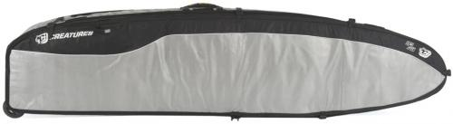 Creatures Of Leisure Universal Quad Wheely Travel Bag - Silver