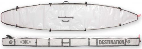 Zoom for Destination Surf SUP Race Bag - White