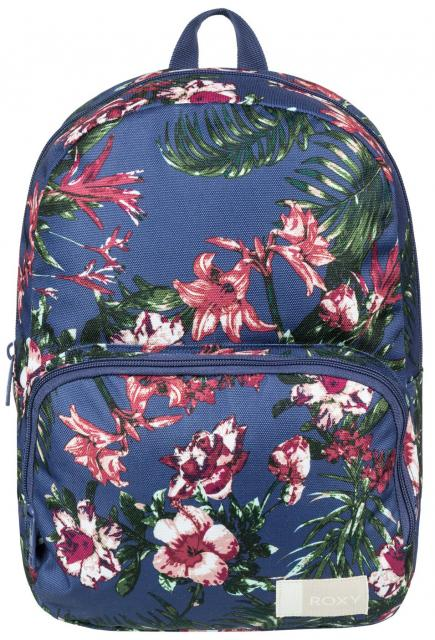 Roxy Always Core Backpack - Crown Blue Flower Games