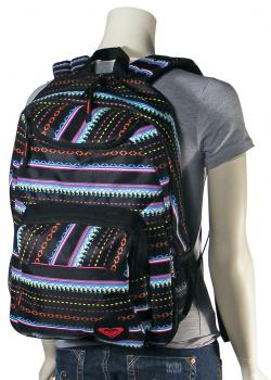 Roxy Shadow View Backpack - Black Color Combo
