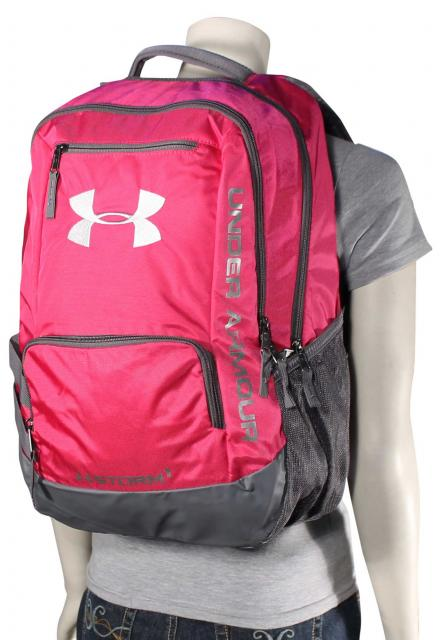 Under Armour Hustle Backpack - Tropic Pink