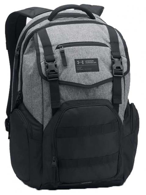 Under Armour Coalition Backpack - Black / Graphite Heather