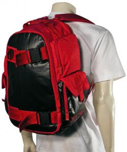 Electric Mass Sk8 Backpack - Red