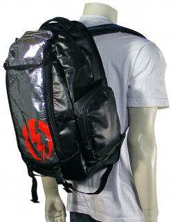 Electric Drill Surf Backpack - Black Combo