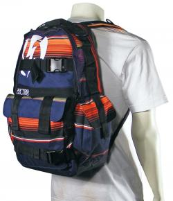 Electric Recoil New Backpack - Stripe Blanket