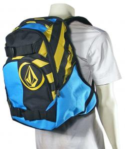 Volcom Equilibrium Backpack - Yellow Flash