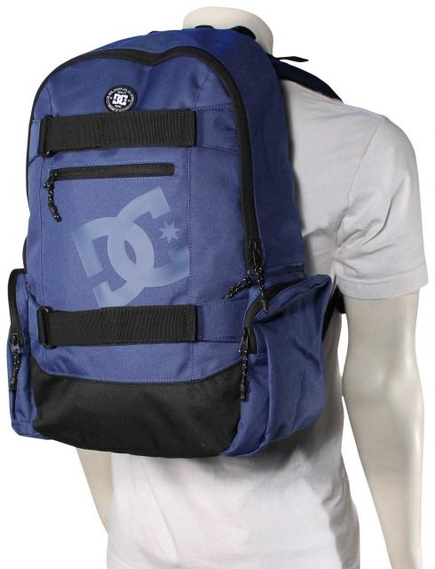 DC The Breed Backpack - Washed Indigo