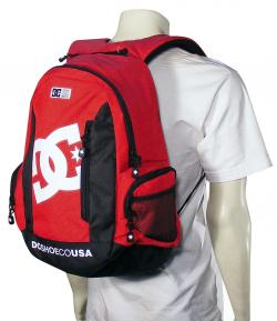 DC Seven Point 7 Backpack - Athletic Red