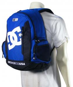 DC Seven Point 7 Backpack - Olympic Blue