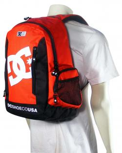 DC Seven Point 5 Backpack - Athletic Red