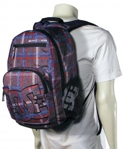 DC Detention Backpack - Grey Plaid
