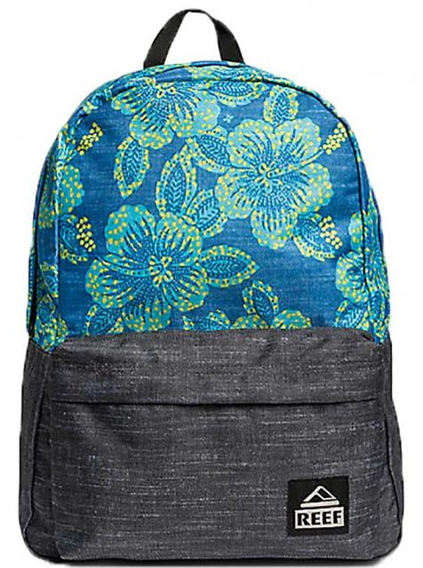 Reef Moving On Backpack - Blue Floral