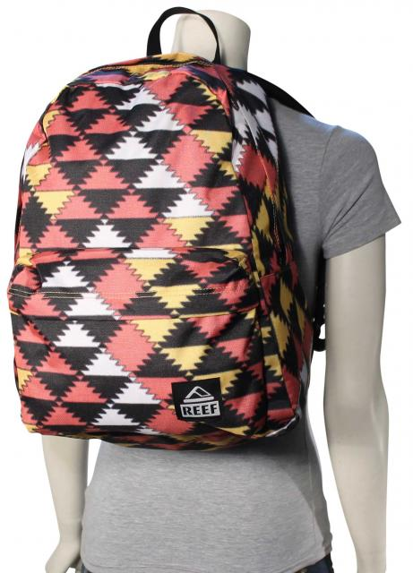Reef Moving On Backpack - Red / Yellow