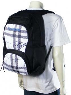 Quiksilver Strange Days Backpack - Cavity White