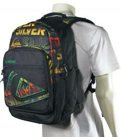 Quiksilver Schoolie Backpack - Goodday Rasta