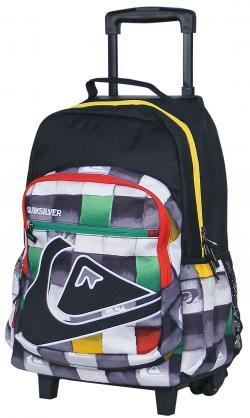 Quiksilver Rollout Backpack - Redemption Rasta