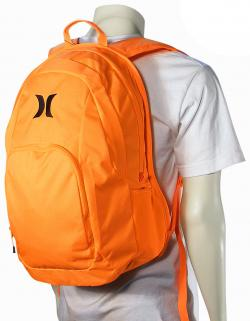 Hurley One and Only Backpack - Neon Orange