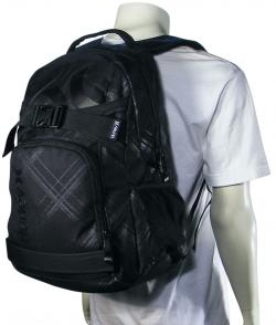 Hurley Honor Roll 2 Skateboard Backpack - Black