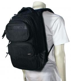 Hurley Sync Laptop Backpack - Black / White