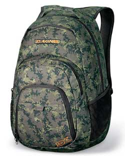 DaKine Campus Backpack - Digi Camo For Sale at Surfboards.com (317335)