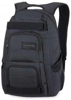 DaKine Duel Backpack - Black Stripes