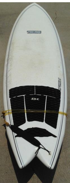 Used 7S Super Fish Surfboard - 6'8