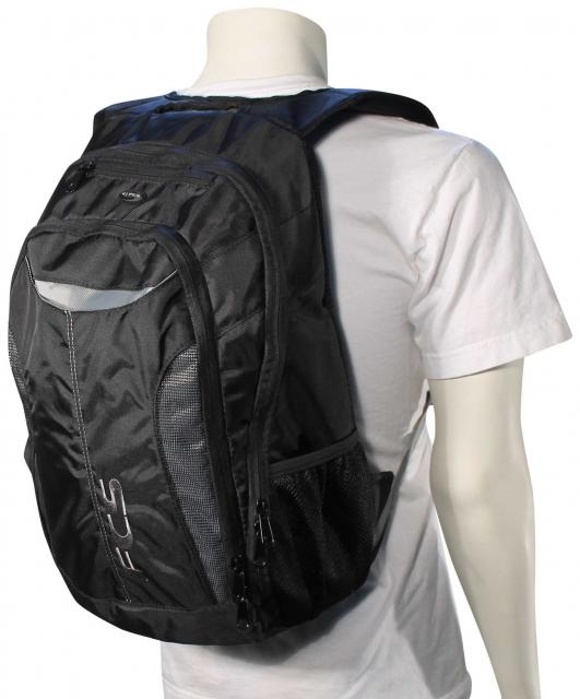 FCS IQ Backpack - Black