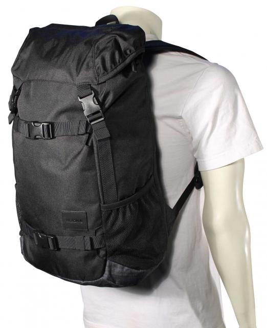 708a7b8d9 Nixon Landlock II Backpack - Black / Black Wash For Sale at Surfboards.com  (319540)