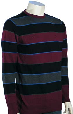 Element Ohio Sweater - Black & Red