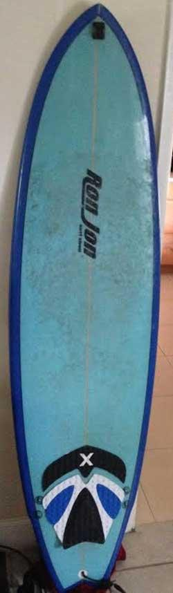 Used ron jon fish 6 39 6 for sale at 327601 for Fish surfboard for sale