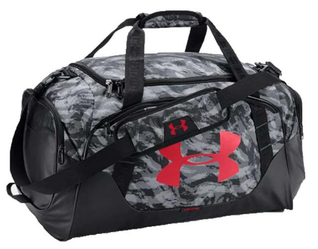 black under armour duffle bag