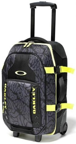 Oakley Carry On Roller Luggage - Jet Black