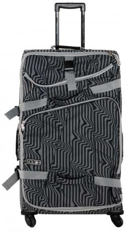 Volcom Psychedelic Stone Check-In Roller Bag - Black