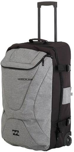 Billabong Elroy Roller Luggage - Black / Grey For Sale at ...